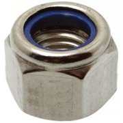 Nylon Insert Nuts Stainless Steel A2
