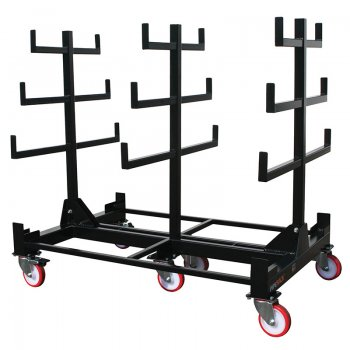 OXBOX Mobile Pipe Storage Trolley