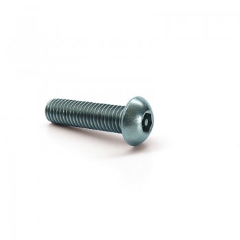 Pin Hex Button Head Machine Screw - A2 Stainless Steel