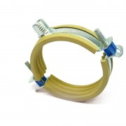 Ratio S-K Lined Pipe Clamps - For Plastic Pipes