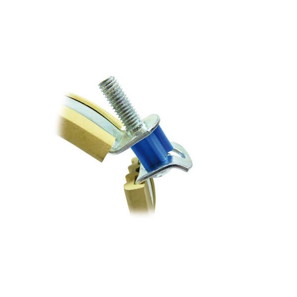 Sikla ratio s k lined pipe clamps for plastic pipes