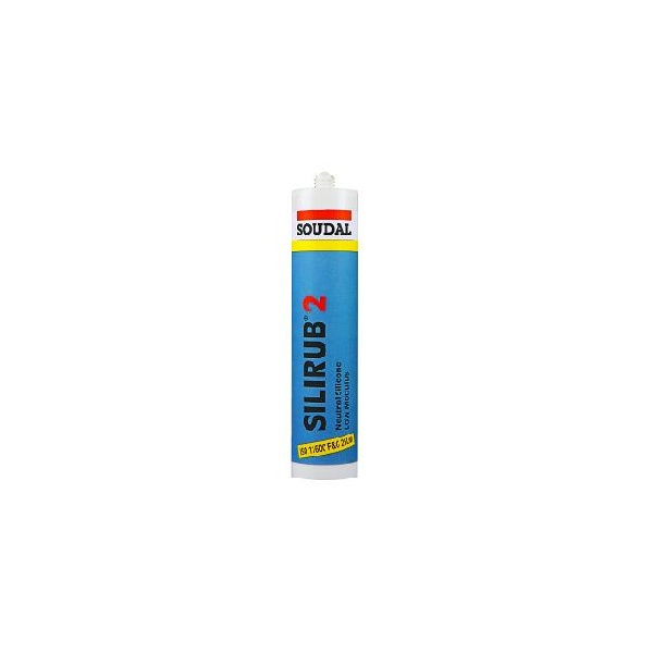 soudal universal silicone sealant clear 300ml 24. Black Bedroom Furniture Sets. Home Design Ideas
