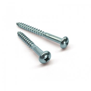 Stainless Steel A2 Pozi Roundhead Woodscrew