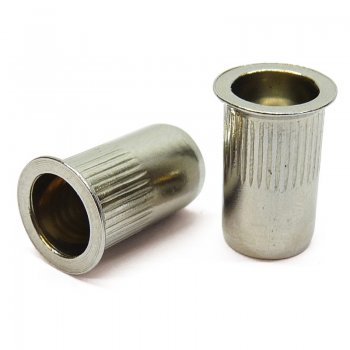 Stainless Steel A2 Rivnuts - Countersunk Head