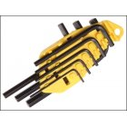 Hex Key Set Metric Stanley 8 Pce