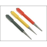 Nail Punch Set Stanley 3 Pce