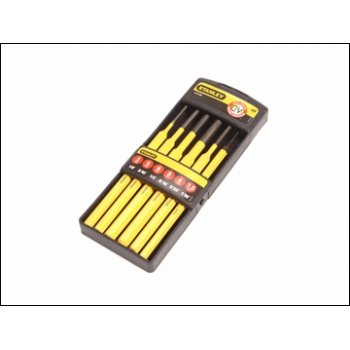 STANLEY Pin Punch Set Stanley 6 Pce
