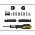 Ratchet Screwdriver Set Stanley 29 Pce