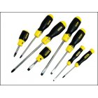 Screwdriver Set Slotted/Phillips Stanley 8 Pce