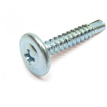 Wafer Head Self Drill Screw BZP