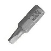 Screwdriver Bit Square 1 x 25mm